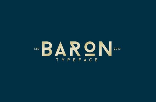Baron Font Family