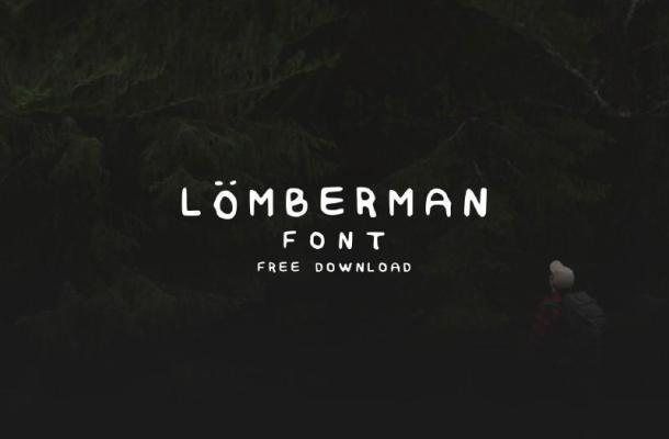 Lumberman Font Free