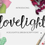 Luxurious Brush Font