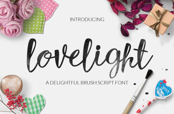 Luxurious Brush Font