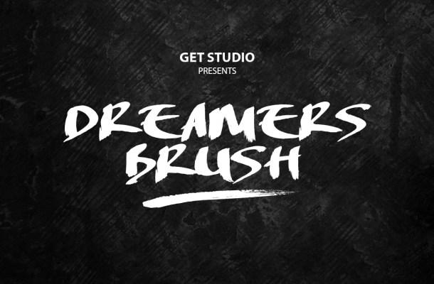 Dreamers Brush Font
