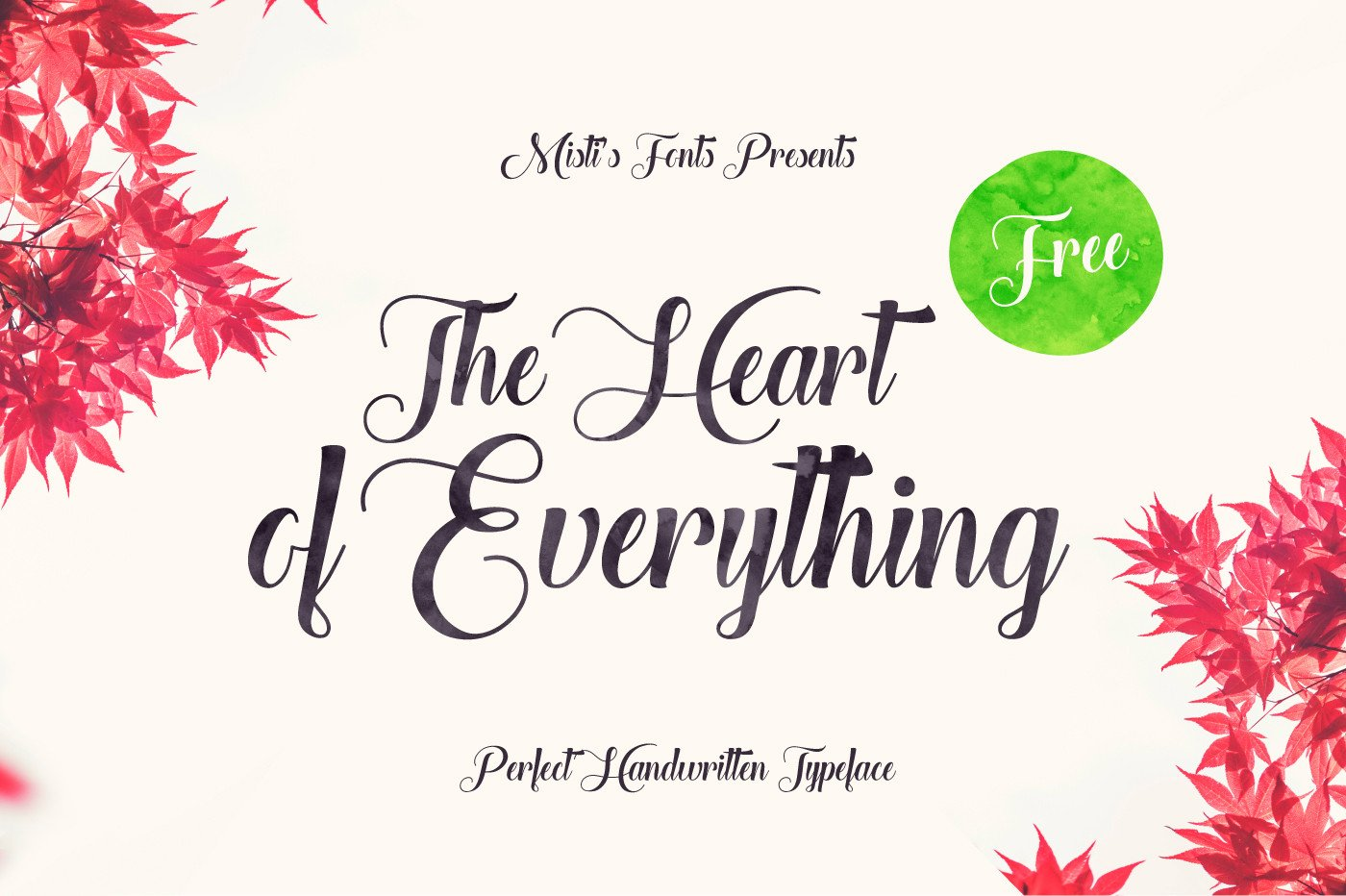 psThe-Heart-Of-Everything-free-script-font-preview-01