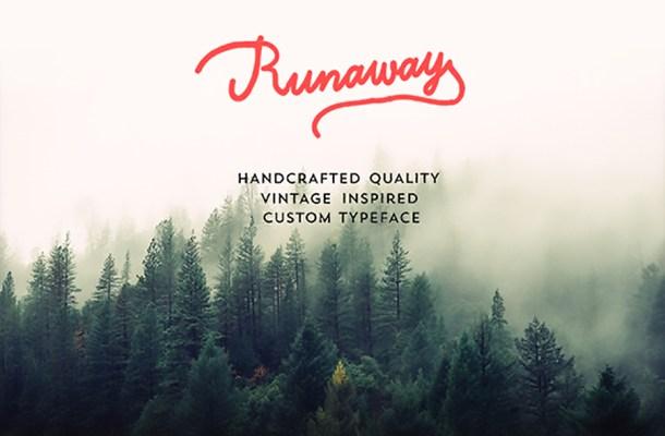 Runaway Font Free