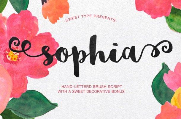 Sophia Font Free