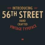 56th Street Font Free