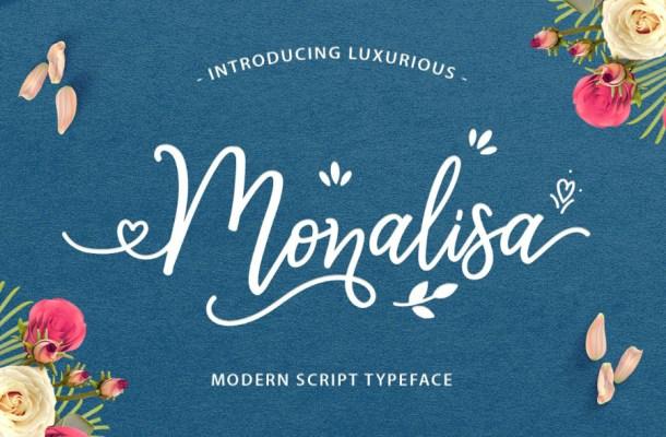 Monalisa Script Font Free