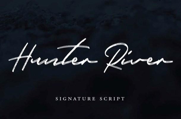 Hunter River Font Free