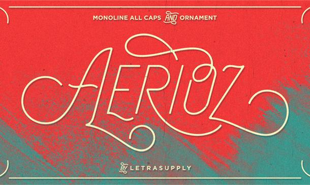 Aerioz Typeface Free
