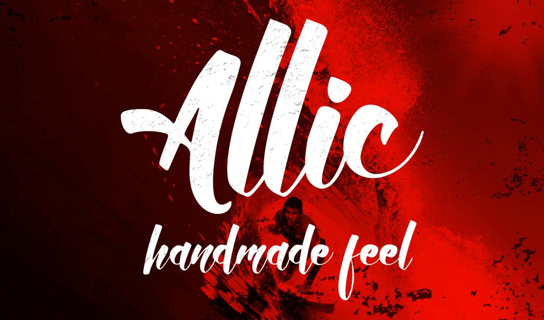 allic-script-font