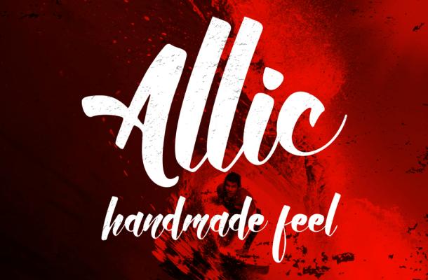 Allic Script Font Free