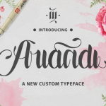 Ariandi Custom Typeface Free