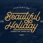 Beautiful Holiday Font Free
