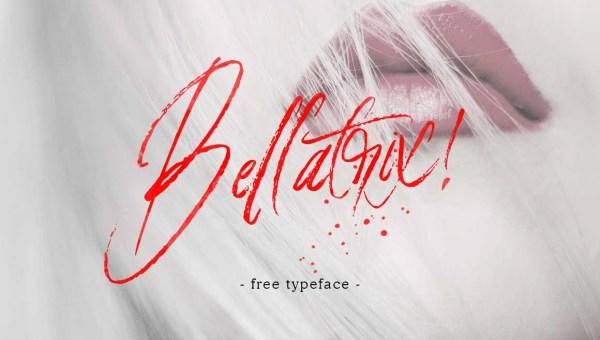 Bellatrix Handbrush Font Free