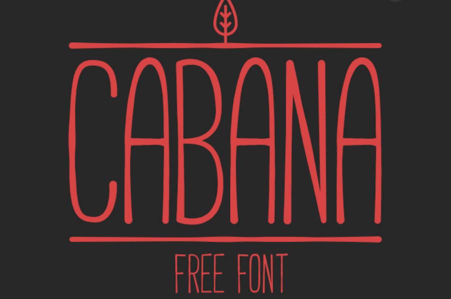 cabana-font