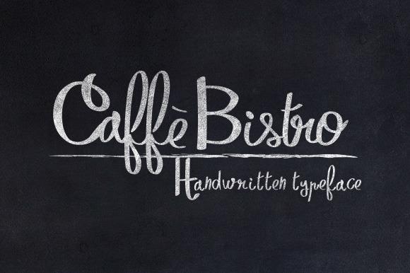 CaffèBistro Script Font Free