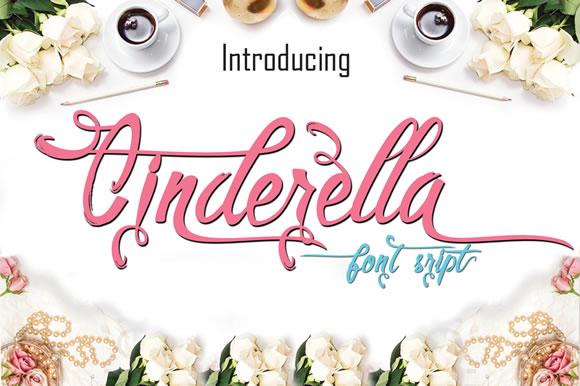 Cinderella Script Font Free