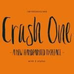 Crash One Typeface Free