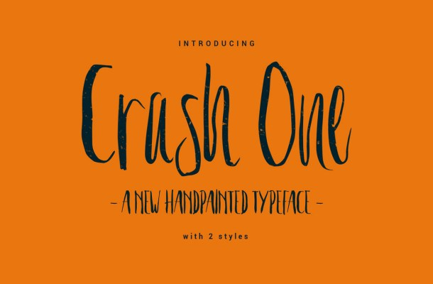 Crash One Typeface Free