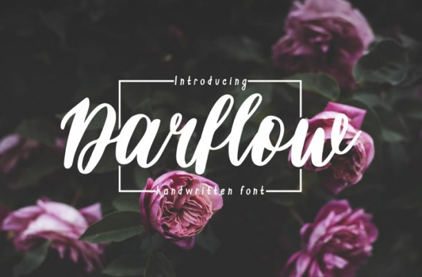 Darflow Handwritten Font Free