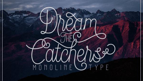 Dream Catchers Script Font Free