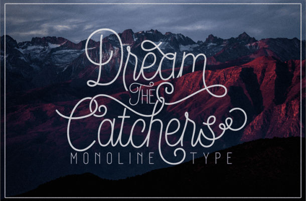 Dream Catchers Script Font Free