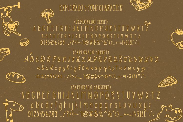 explorado-font-family-4