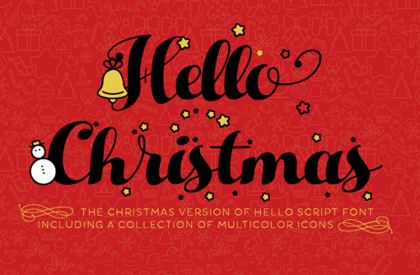 Hello Christmas Script Font Free