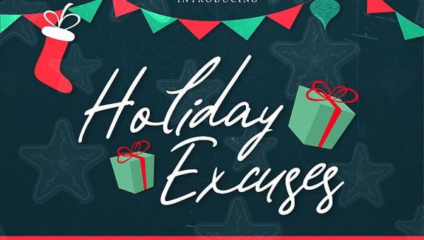 Holiday Excuses Script Font Free