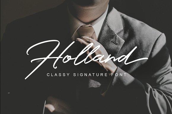 Holland Script Font Free