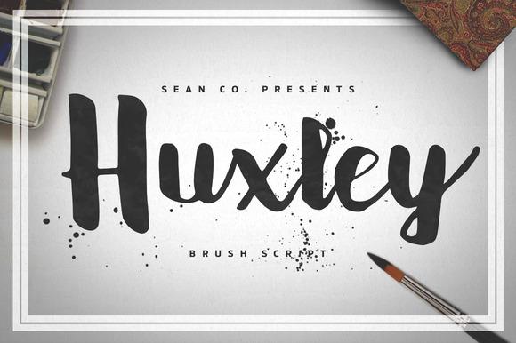 Huxley Script Font Free