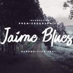 Jaime Blues Font Free