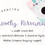 Lovely Nirvana Script Font Free