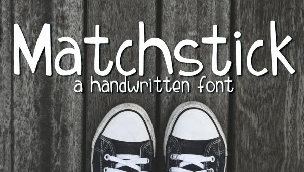 Matchstick Typeface Free
