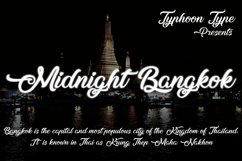 midnight-bangkok-font-1