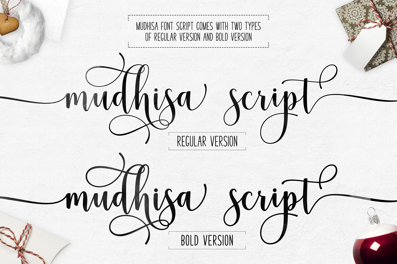 Mudhisa Script Font Free - Dafont Free