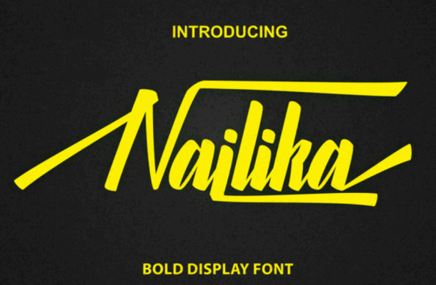 Nailika Script Font Free
