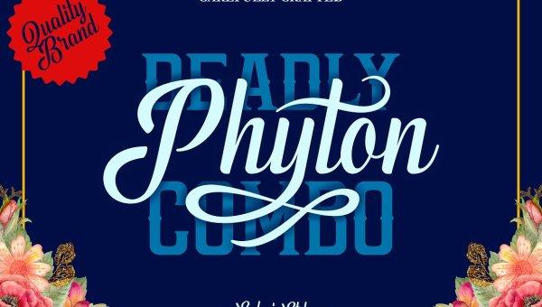 Phyton Script Font Free