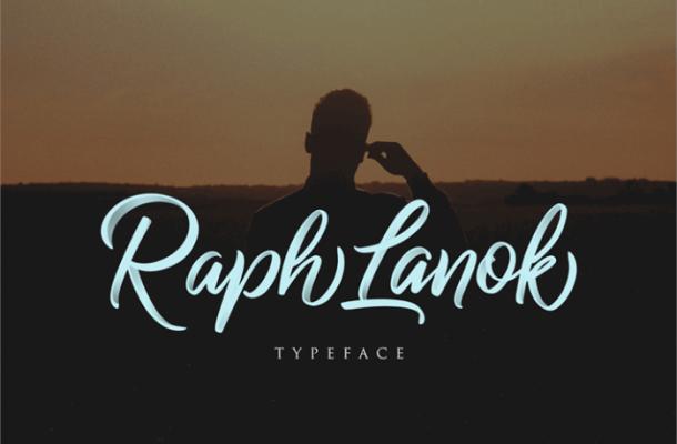 Raph Lanok Script Font Free