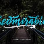 Redmirable Script Font Free