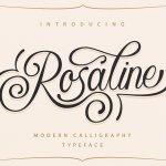 Rosaline Script Font Free