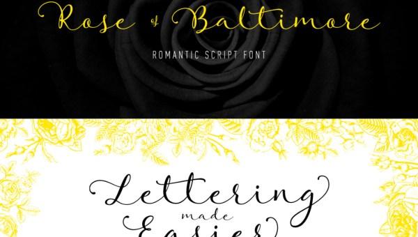 Rose of Baltimore Font Free