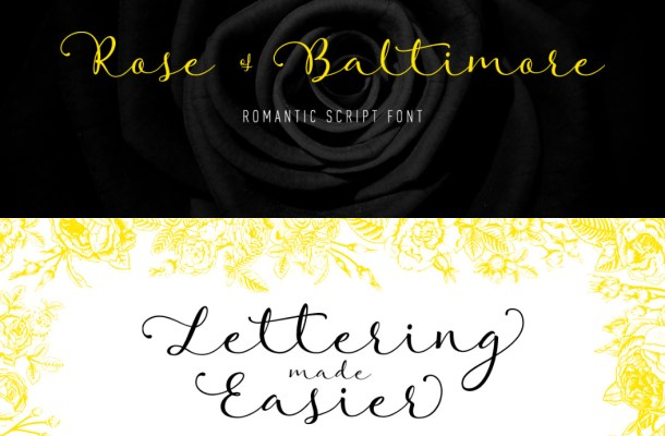 Rose of Baltimore Font Free