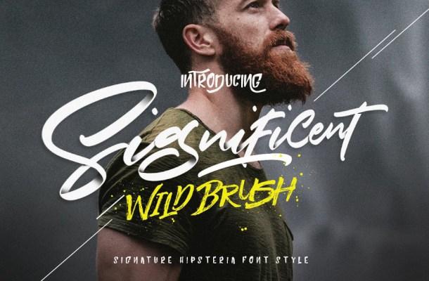 Significent Script Font Free