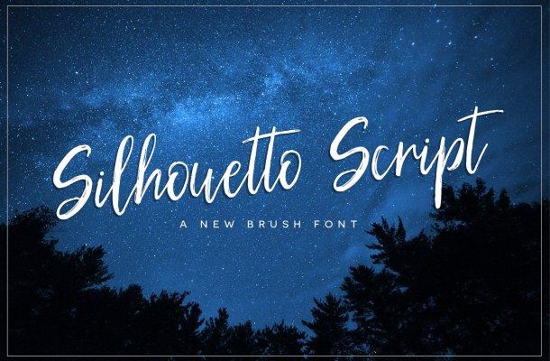 Silhouetto Script Font Free