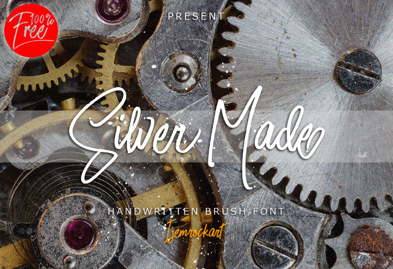 silver-made-script-font