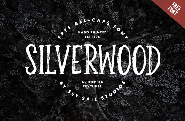 Silverwood Typeface Free