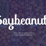 Soybeanut Script Font Free