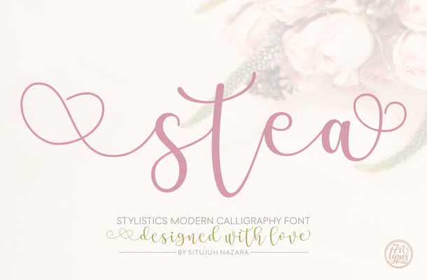 Stea Calligraphy Font Free