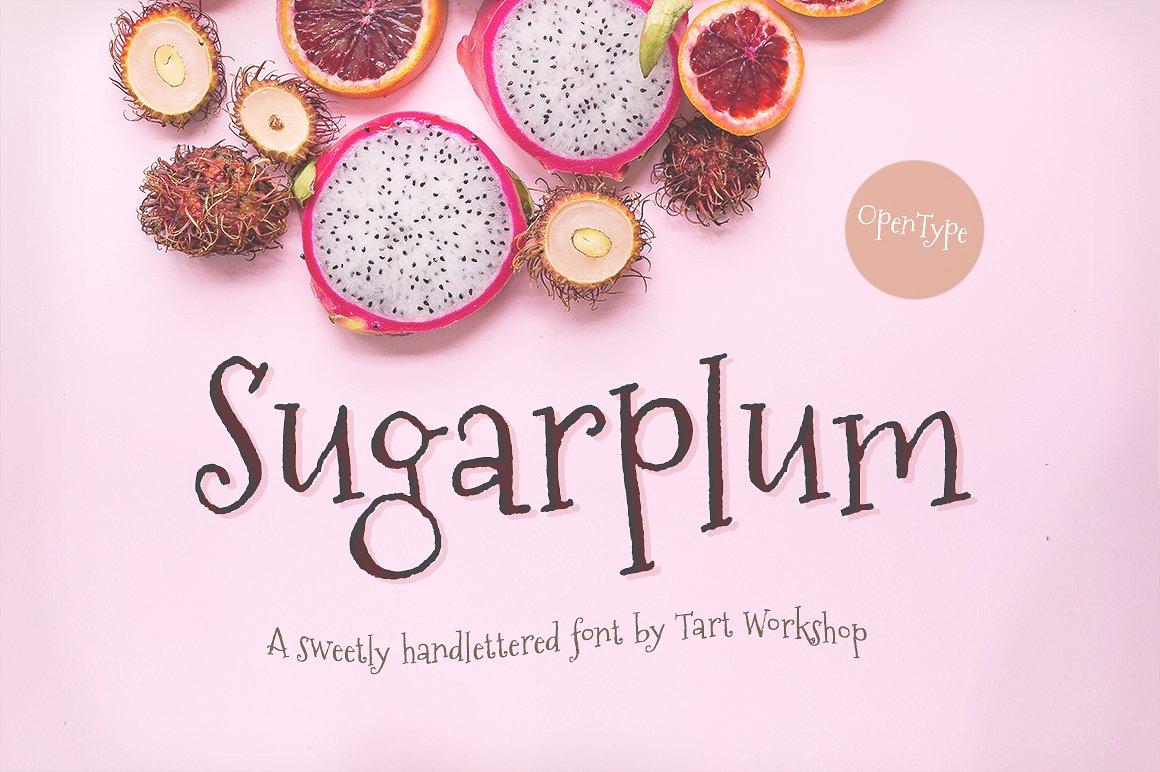 sugarplum-font