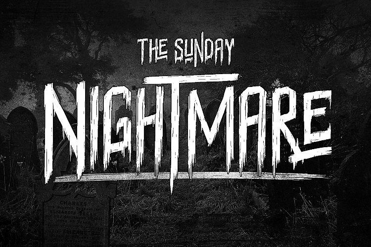 sunday-nightmare-typeface